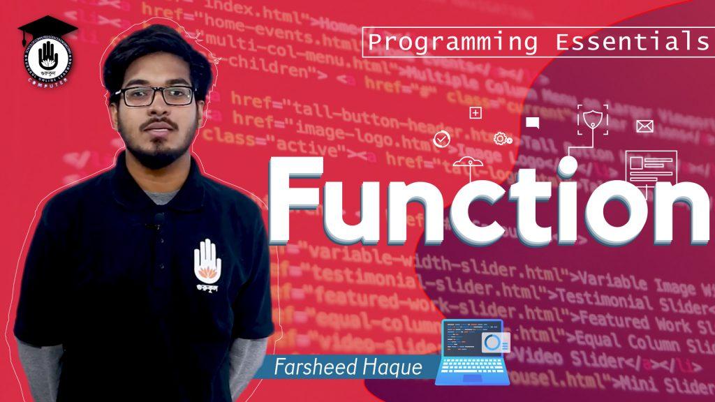 Function | Programming Essentials | Gurukul Online Learning Network (GOLN)
